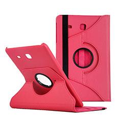 Custodia Portafoglio In Pelle con Stand per Samsung Galaxy Tab E 9.6 T560 T561 Rosso