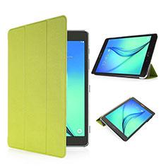 Custodia Portafoglio In Pelle con Stand per Samsung Galaxy Tab S2 8.0 SM-T710 SM-T715 Verde