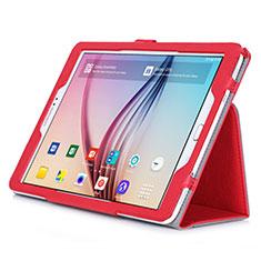 Custodia Portafoglio In Pelle con Stand per Samsung Galaxy Tab S2 9.7 SM-T810 SM-T815 Rosso