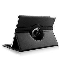Custodia Portafoglio In Pelle con Stand Rotazione per Apple iPad Air 2 Nero