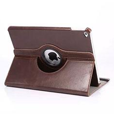 Custodia Portafoglio In Pelle con Stand Rotazione per Apple iPad Mini 4 Marrone