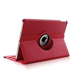 Custodia Portafoglio In Pelle con Supporto Girevole per Apple iPad Air 2 Rosso
