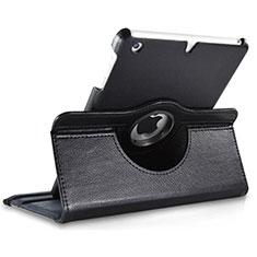 Custodia Portafoglio In Pelle con Supporto Girevole per Apple iPad Mini 3 Nero
