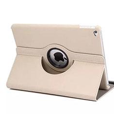 Custodia Portafoglio In Pelle con Supporto Girevole per Apple iPad Mini 4 Oro Rosa