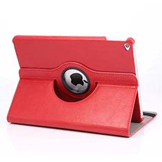 Custodia Portafoglio In Pelle con Supporto Girevole per Apple iPad Mini 4 Rosso
