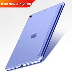 Custodia Portafoglio In Pelle con Supporto L01 per Apple iPad Air 3 Blu