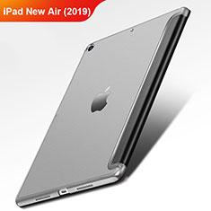 Custodia Portafoglio In Pelle con Supporto L01 per Apple iPad New Air (2019) 10.5 Nero