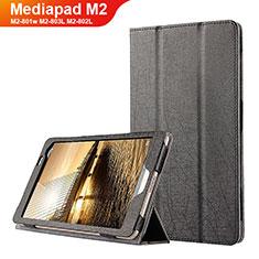 Custodia Portafoglio In Pelle con Supporto L01 per Huawei Mediapad M2 8 M2-801w M2-803L M2-802L Nero