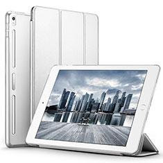 Custodia Portafoglio In Pelle con Supporto L02 per Apple iPad Pro 10.5 Bianco