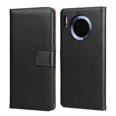 Custodia Portafoglio In Pelle con Supporto L02 per Huawei Mate 30 Nero