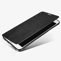 Custodia Portafoglio In Pelle con Supporto L02 per Samsung Galaxy Note 5 N9200 N920 N920F Nero