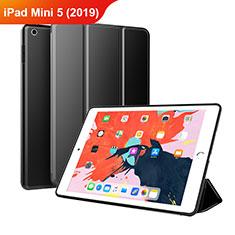 Custodia Portafoglio In Pelle con Supporto L03 per Apple iPad Mini 5 (2019) Nero
