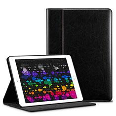 Custodia Portafoglio In Pelle con Supporto L03 per Apple iPad Pro 10.5 Nero