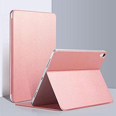 Custodia Portafoglio In Pelle con Supporto L03 per Apple iPad Pro 12.9 (2018) Rosa