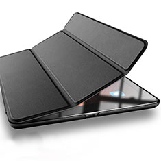 Custodia Portafoglio In Pelle con Supporto L03 per Xiaomi Mi Pad 2 Nero