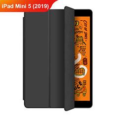 Custodia Portafoglio In Pelle con Supporto L04 per Apple iPad Mini 5 (2019) Nero