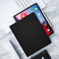Custodia Portafoglio In Pelle con Supporto L04 per Apple iPad Pro 12.9 (2018) Nero