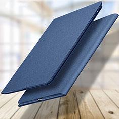 Custodia Portafoglio In Pelle con Supporto L04 per Apple New iPad 9.7 (2017) Blu