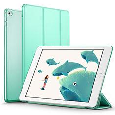 Custodia Portafoglio In Pelle con Supporto L05 per Apple iPad Mini 4 Verde