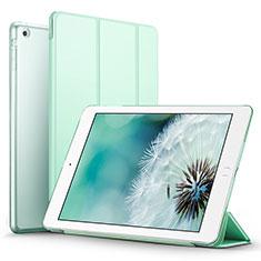 Custodia Portafoglio In Pelle con Supporto L06 per Apple iPad Mini 2 Verde