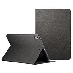 Custodia Portafoglio In Pelle con Supporto L06 per Apple iPad Pro 10.5 Nero