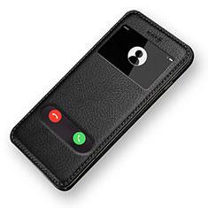 Custodia Portafoglio In Pelle con Supporto L06 per Apple iPhone 6S Nero