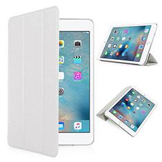 Custodia Portafoglio In Pelle con Supporto Opaca per Apple iPad Pro 9.7 Bianco
