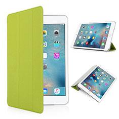 Custodia Portafoglio In Pelle con Supporto Opaca per Apple iPad Pro 9.7 Verde