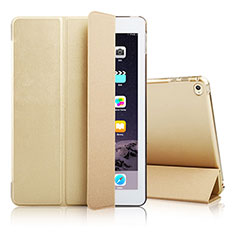 Custodia Portafoglio In Pelle con Supporto per Apple iPad Air 2 Oro