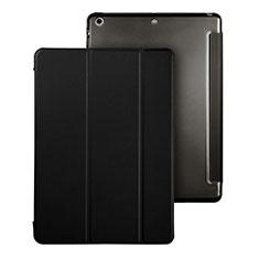 Custodia Portafoglio In Pelle con Supporto per Apple iPad Air Nero