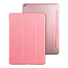 Custodia Portafoglio In Pelle con Supporto per Apple iPad Mini 4 Rosa