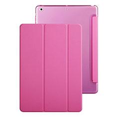Custodia Portafoglio In Pelle con Supporto per Apple iPad Mini Rosa Caldo