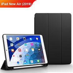 Custodia Portafoglio In Pelle con Supporto per Apple iPad New Air (2019) 10.5 Nero