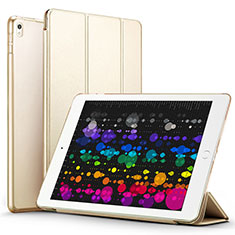 Custodia Portafoglio In Pelle con Supporto per Apple iPad Pro 10.5 Oro