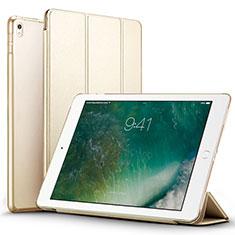 Custodia Portafoglio In Pelle con Supporto per Apple iPad Pro 12.9 (2017) Oro