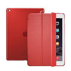 Custodia Portafoglio In Pelle con Supporto per Apple iPad Pro 12.9 Rosso