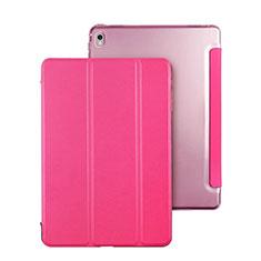 Custodia Portafoglio In Pelle con Supporto per Apple iPad Pro 9.7 Rosa Caldo