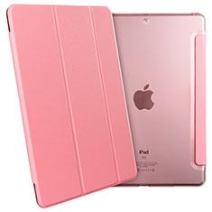 Custodia Portafoglio In Pelle con Supporto per Apple New iPad 9.7 (2017) Rosa