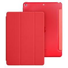 Custodia Portafoglio In Pelle con Supporto per Apple New iPad 9.7 (2017) Rosso