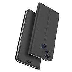 Custodia Portafoglio In Pelle con Supporto per Asus Zenfone 3 Zoom Nero