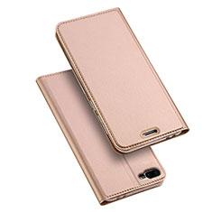 Custodia Portafoglio In Pelle con Supporto per Asus Zenfone 4 Max ZC554KL Oro Rosa