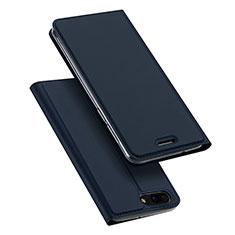 Custodia Portafoglio In Pelle con Supporto per Asus Zenfone 4 ZE554KL Blu
