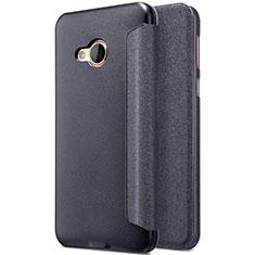 Custodia Portafoglio In Pelle con Supporto per HTC U Play Nero