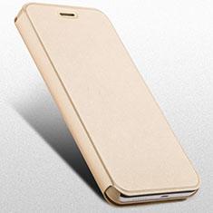 Custodia Portafoglio In Pelle con Supporto per Huawei Honor 4X Oro