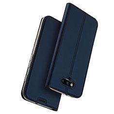 Custodia Portafoglio In Pelle con Supporto per Huawei Honor Magic Blu