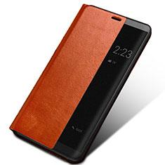 Custodia Portafoglio In Pelle con Supporto per Huawei Mate 10 Marrone
