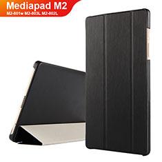 Custodia Portafoglio In Pelle con Supporto per Huawei Mediapad M2 8 M2-801w M2-803L M2-802L Nero
