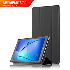 Custodia Portafoglio In Pelle con Supporto per Huawei MediaPad T3 7.0 BG2-W09 BG2-WXX Nero