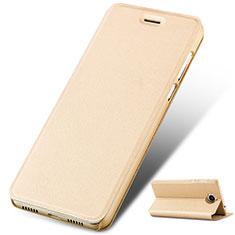 Custodia Portafoglio In Pelle con Supporto per Huawei Y5 III Y5 3 Oro