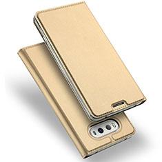 Custodia Portafoglio In Pelle con Supporto per LG V20 Oro